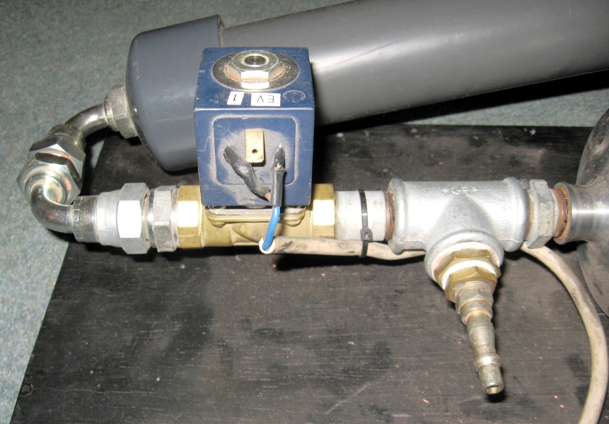Paint Cannon Valve