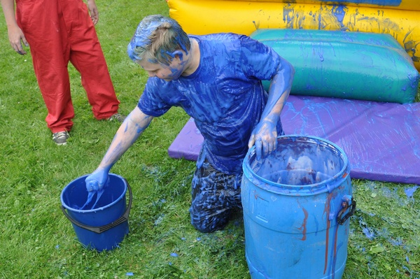 Gunge Bouncy Castle